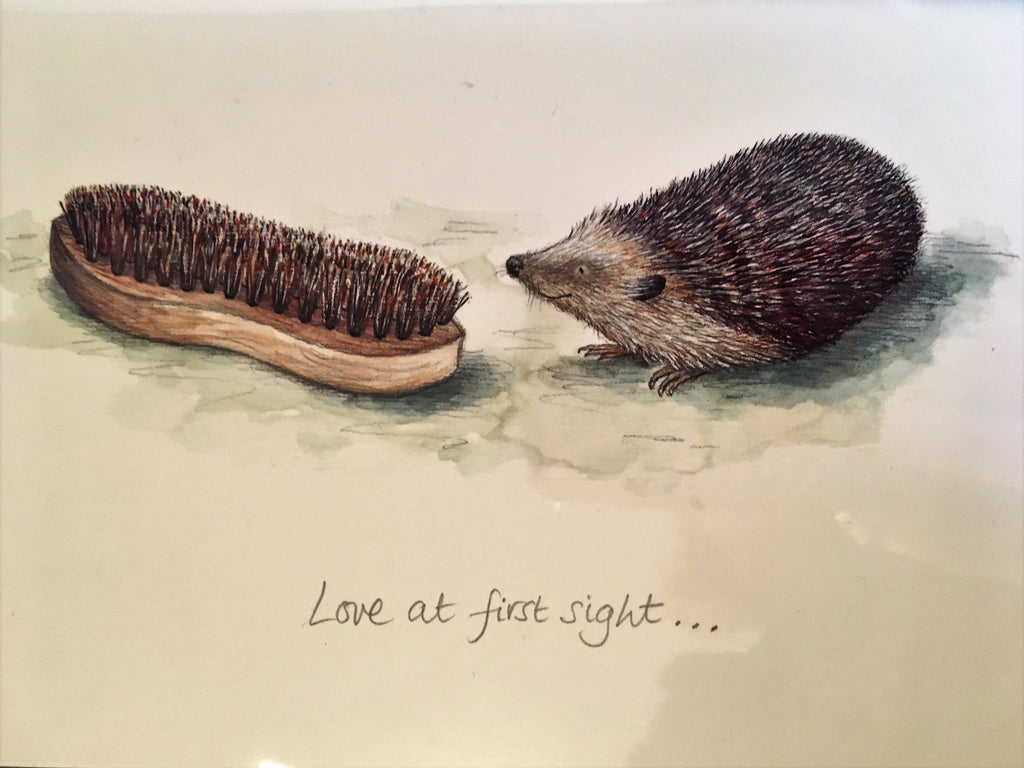 Love At First Sight Greetings Card - TBM17