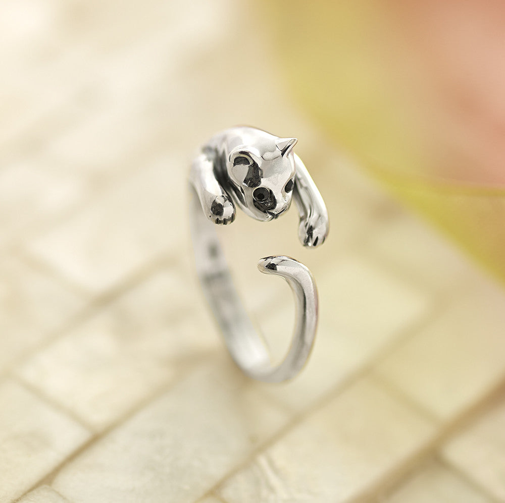 Playful Kitten Ring - SR1630