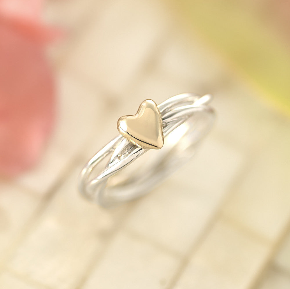 Heart of Gold Ring - SR1008