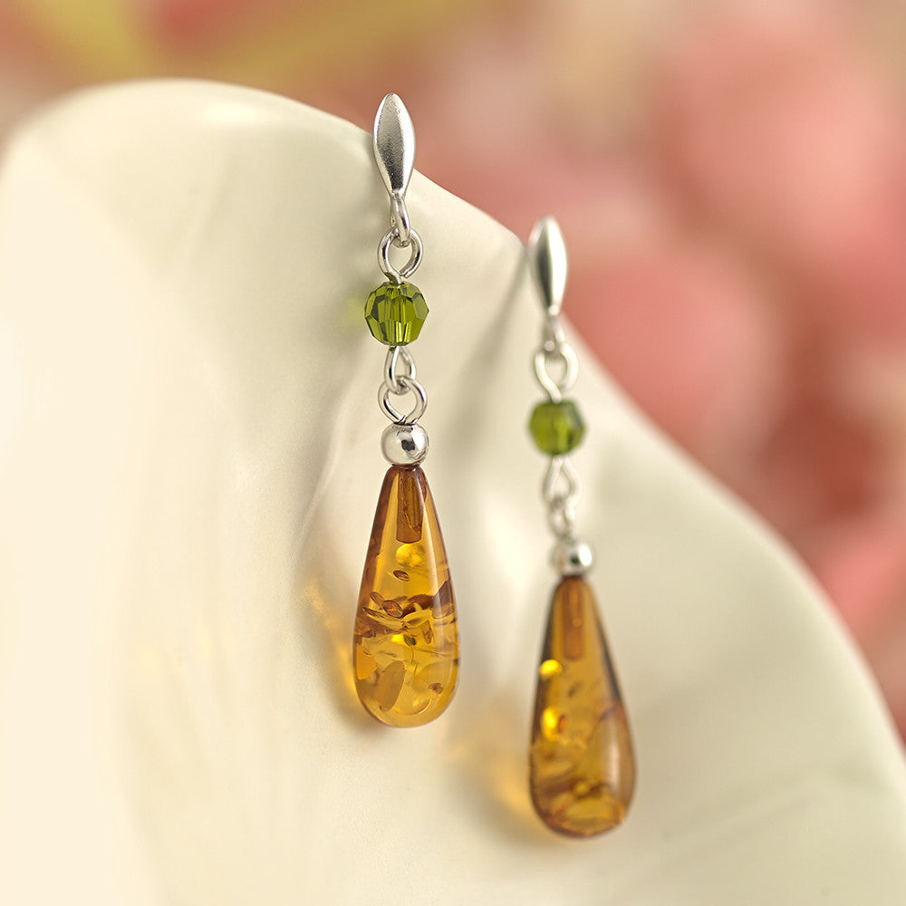 Citrus Honey Earrings - AE3936
