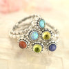 Birthstone Stacker Ring - SBSR