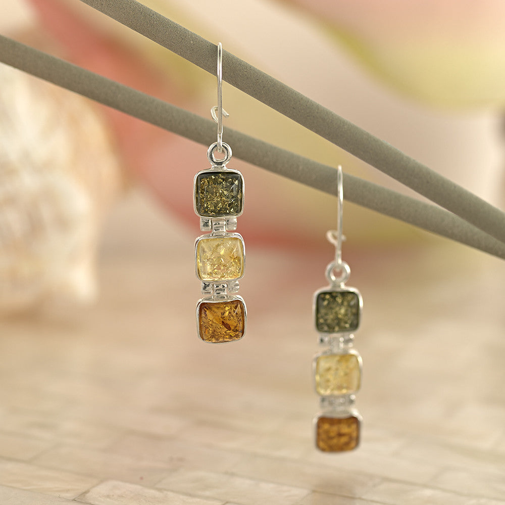 Amber Trio Earrings - SE4071