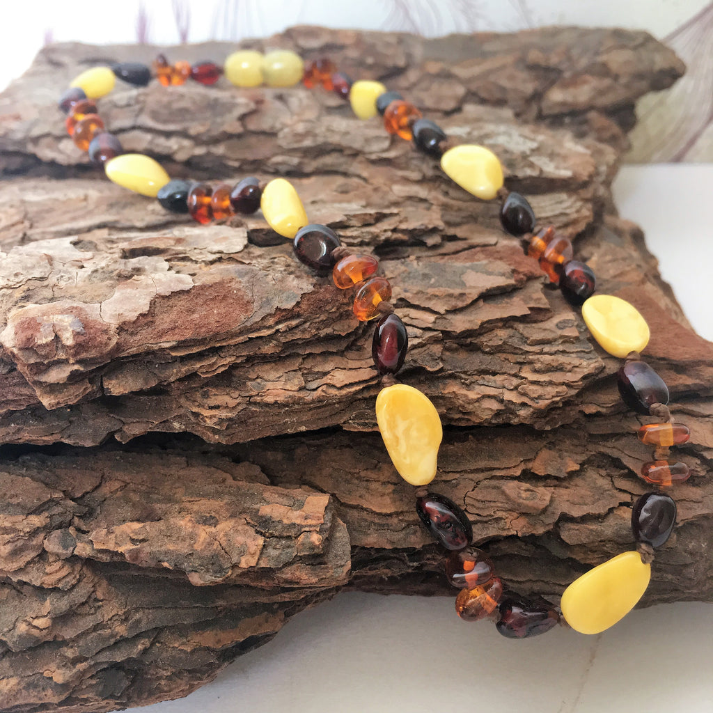 Amber Teething Beads - VAN106