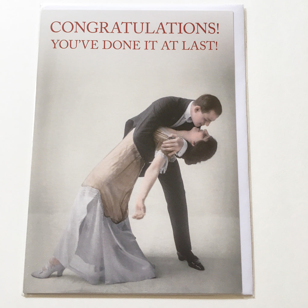 Congratulations Greetings Card - CTC106