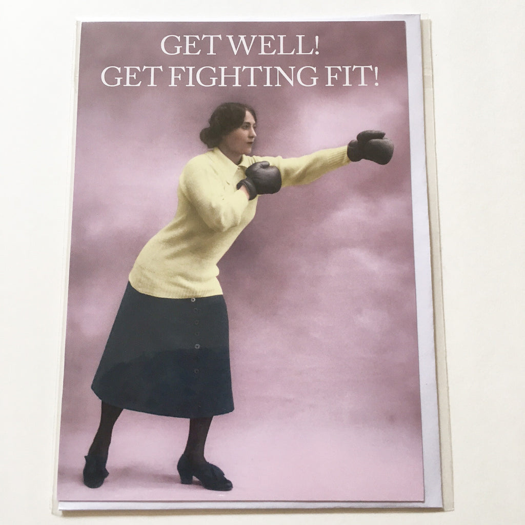 Get Well greetings card - CTC107