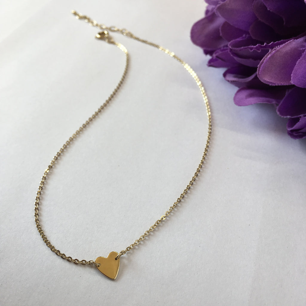 Heart Choker (Gold) - SCHN916