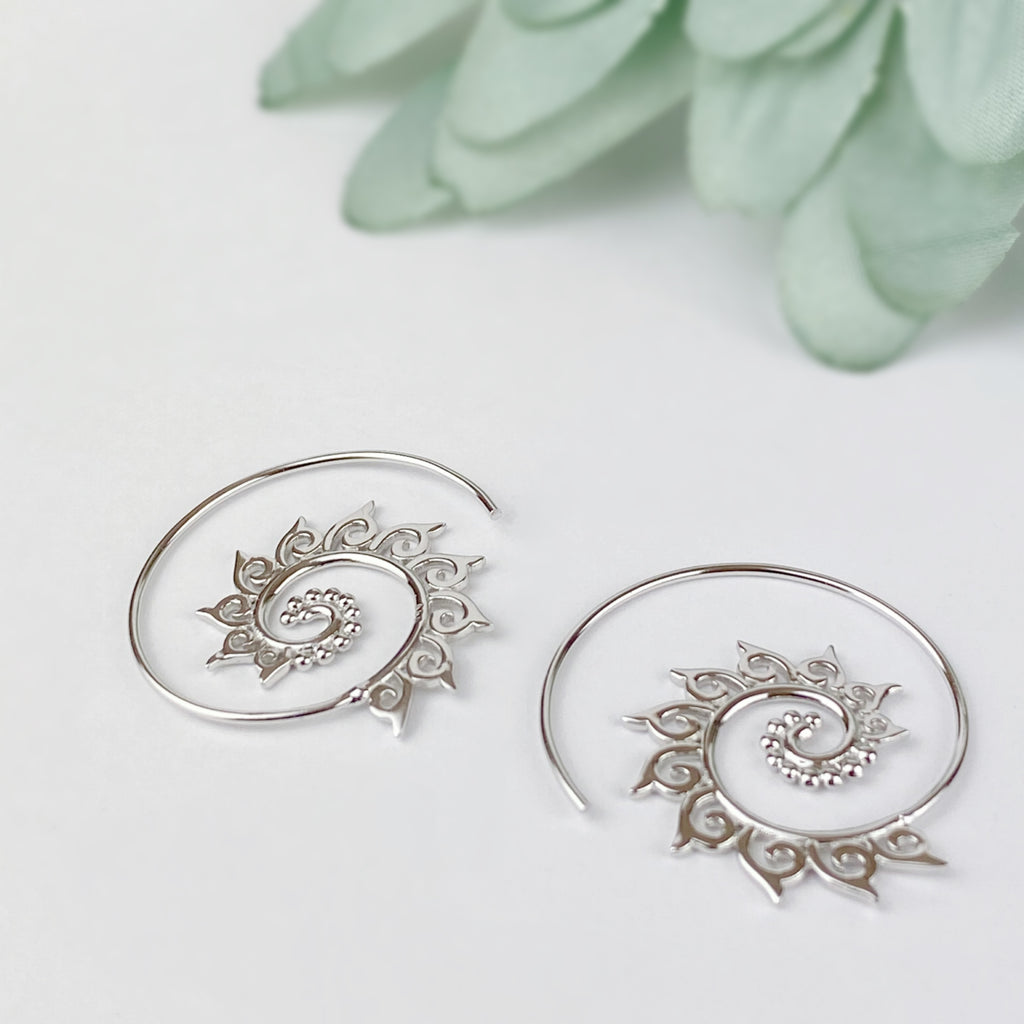 Minerva Hoop Earrings - SE4653