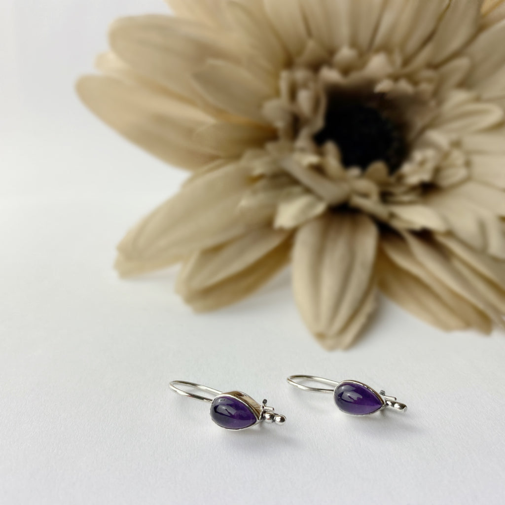 Amethyst Rain Earrings - SE111