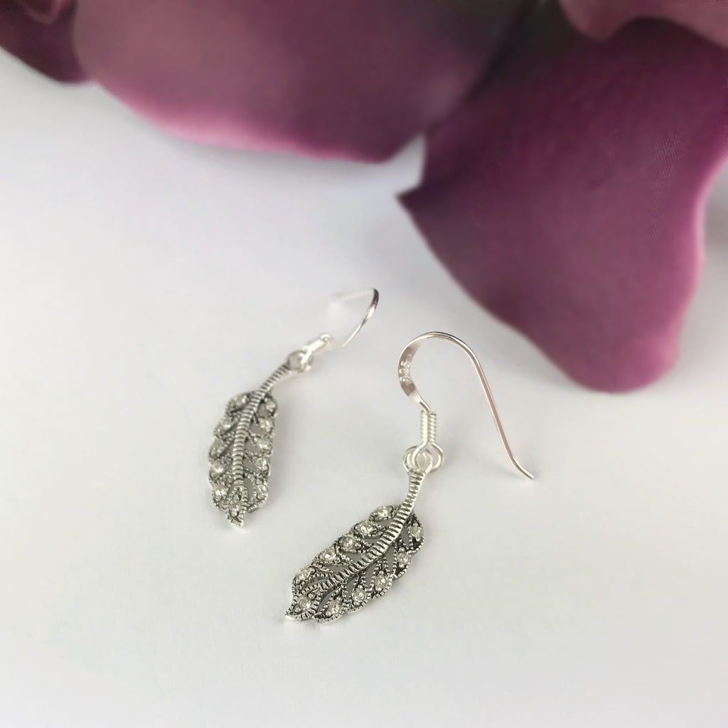 Angels Feather Earrings - VE282