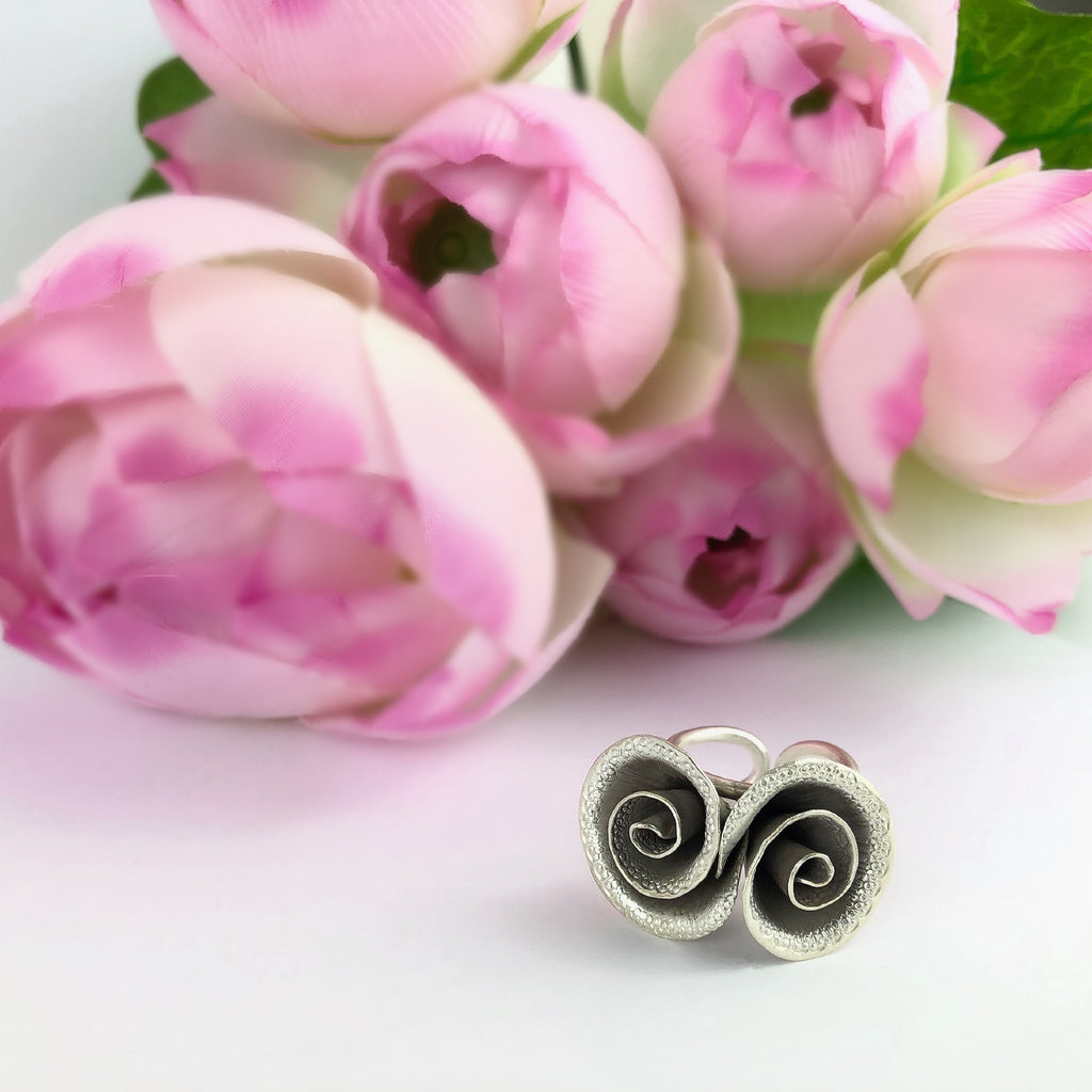 Spiral Bouquet Ring - VR346