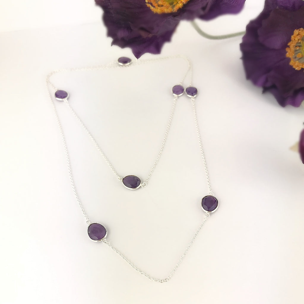 Amethyst Berries Necklace - VNKL216