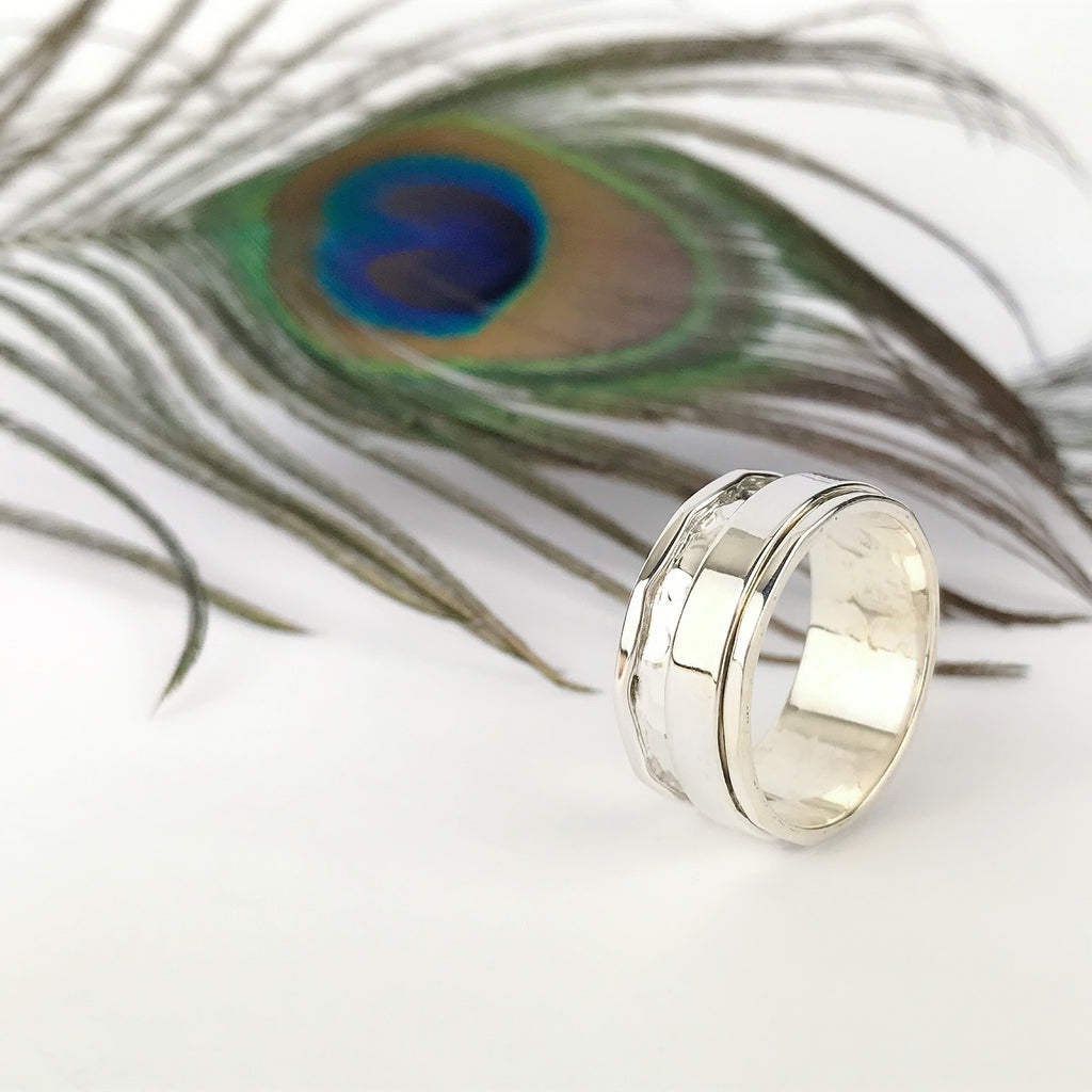 Textured Spin Ring - SR2057