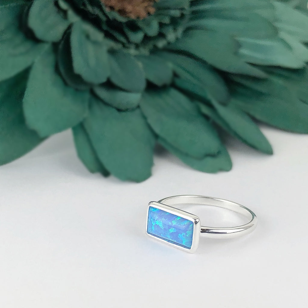 Opal Slice Ring - SR2048