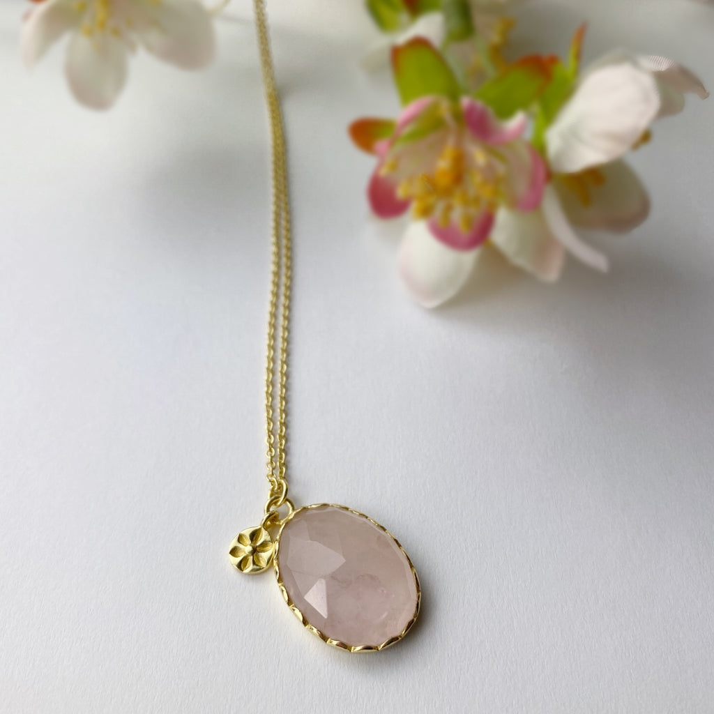 Sunset Pink Necklace - VNKL250