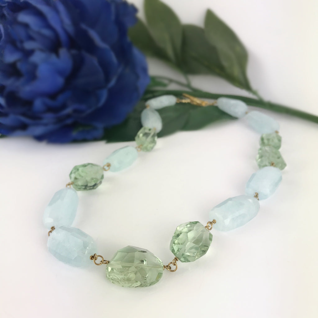 Tranquil Blue Necklace - VNKL241