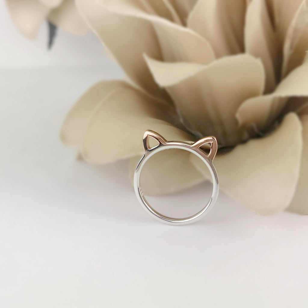 Kooky Cat Ring - SR2042
