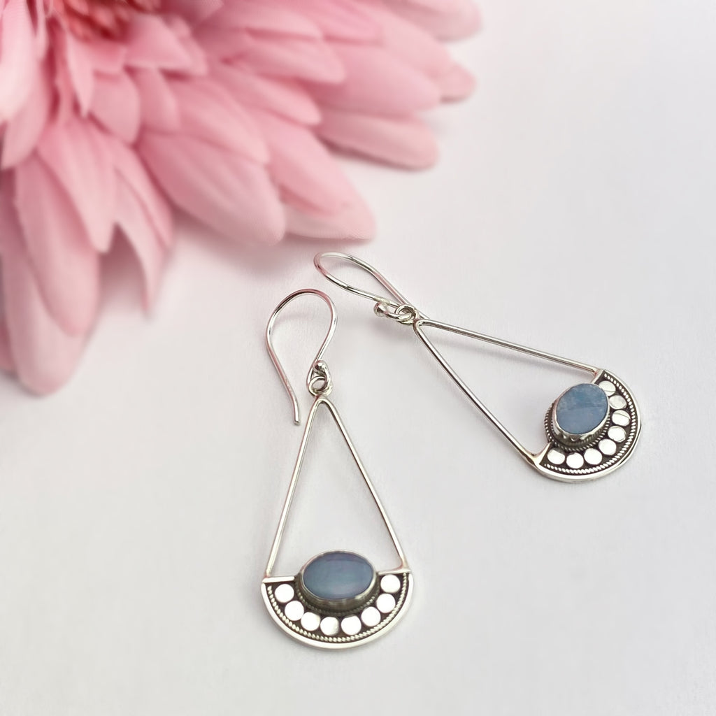 Opal Libra Earrings - VE217
