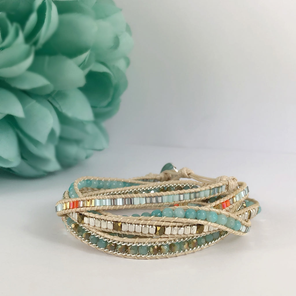 Summer Fun Wrap Bracelet - SBRC33