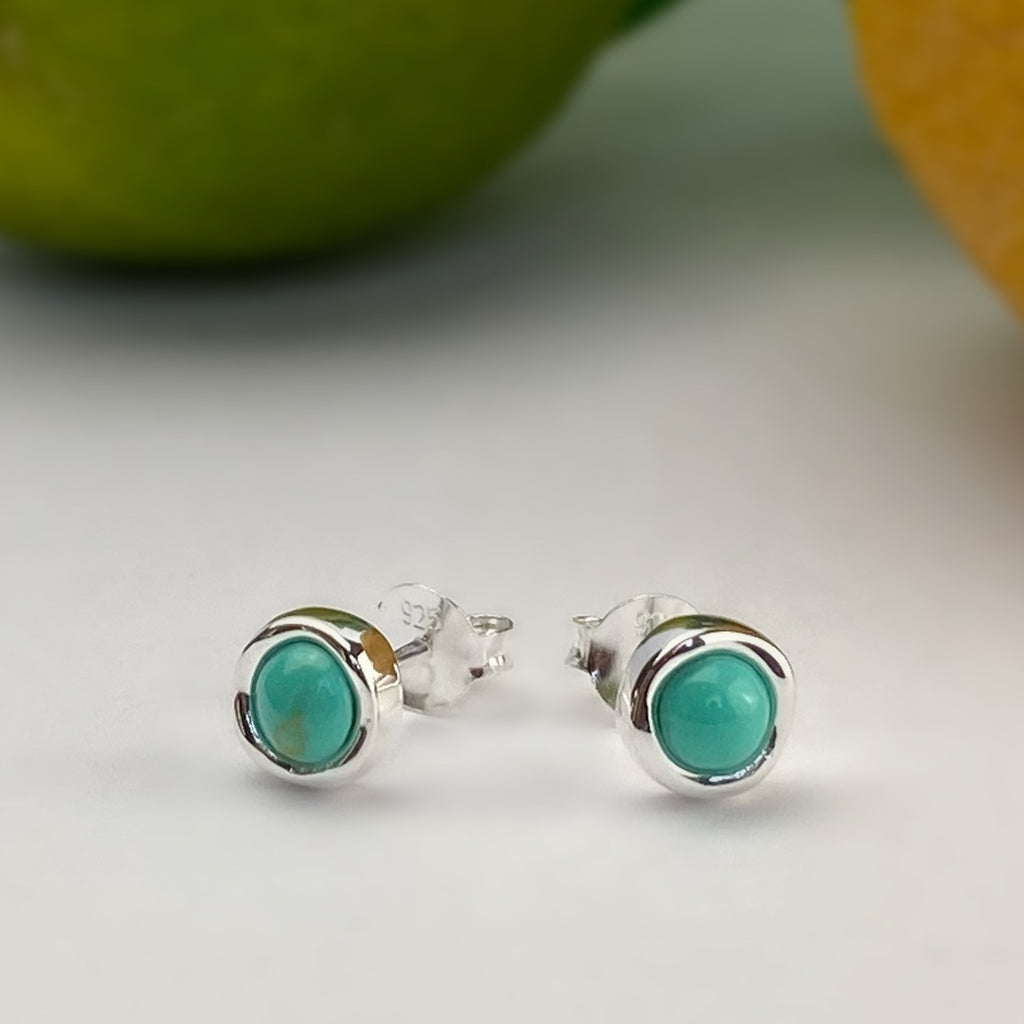 Turquoise Pool Earrings - VE477
