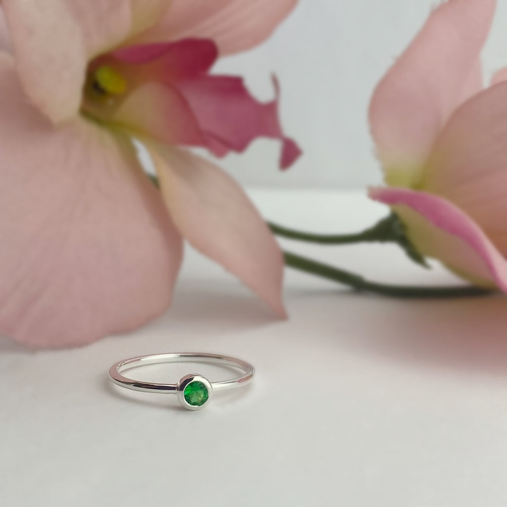 Emerald Sparkle Ring - SR2125