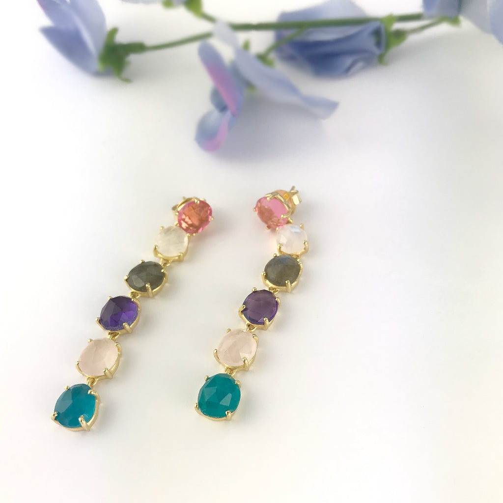 Gorgeous Goddess Earrings - VE579