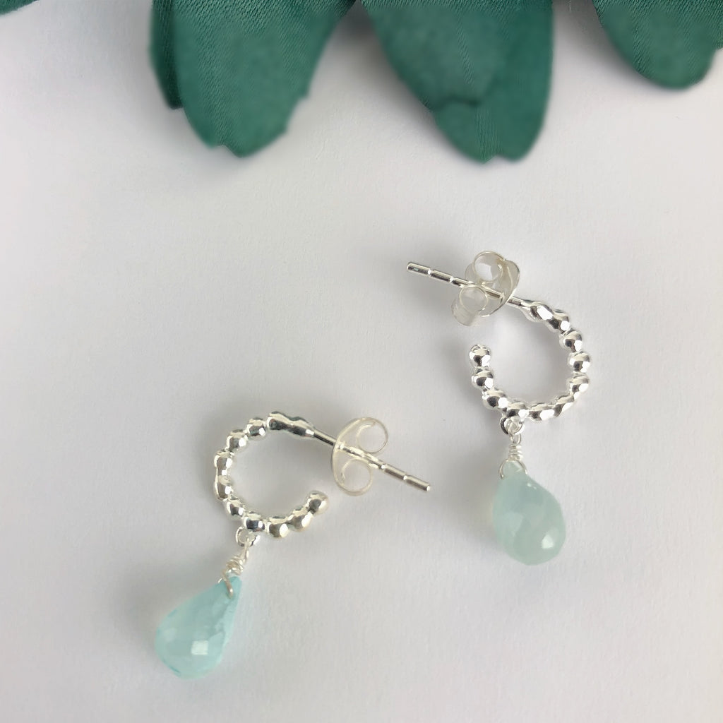 Misty Hoop Earrings - SE4630