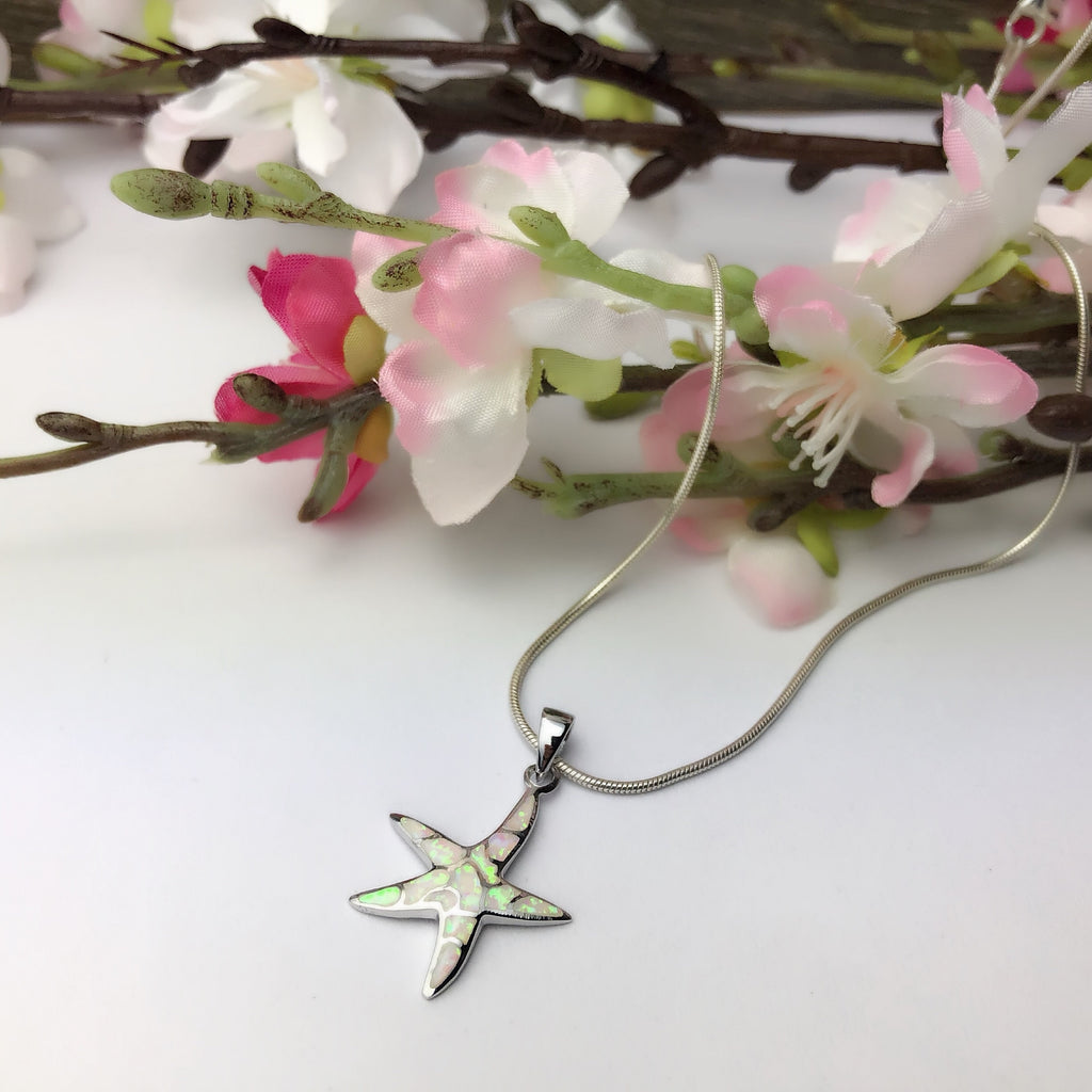 Mermaid Star Pendant - SP2455