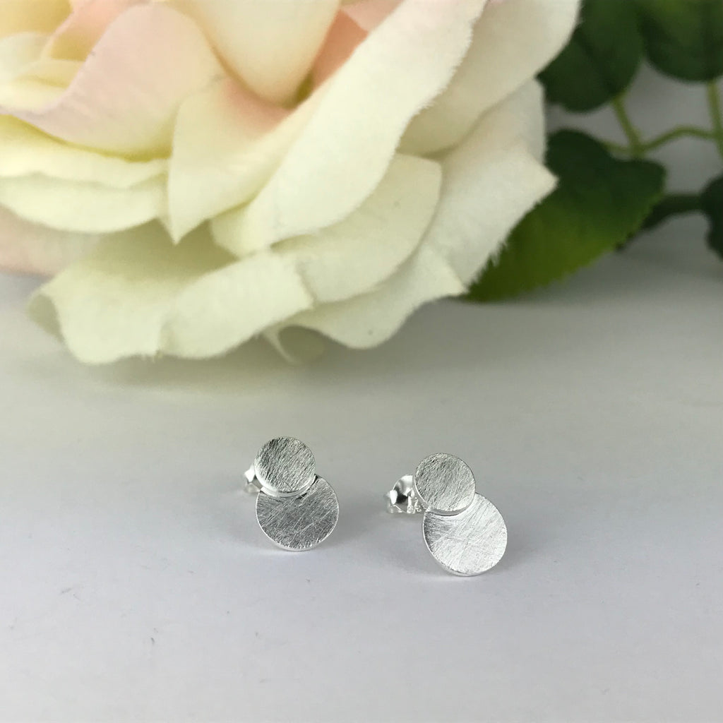 Silver Eclipse Earrings - VE534