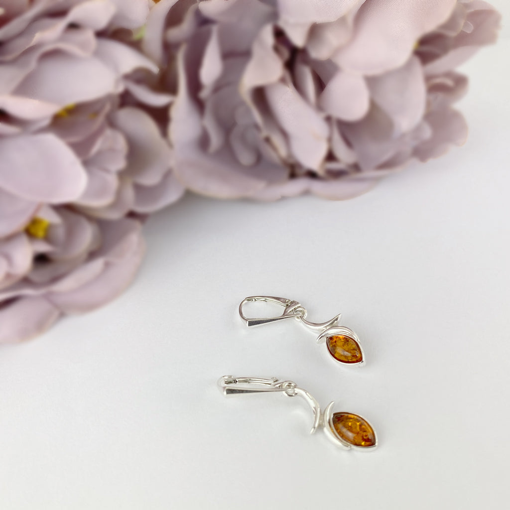 Amber Flash Earrings - VE413