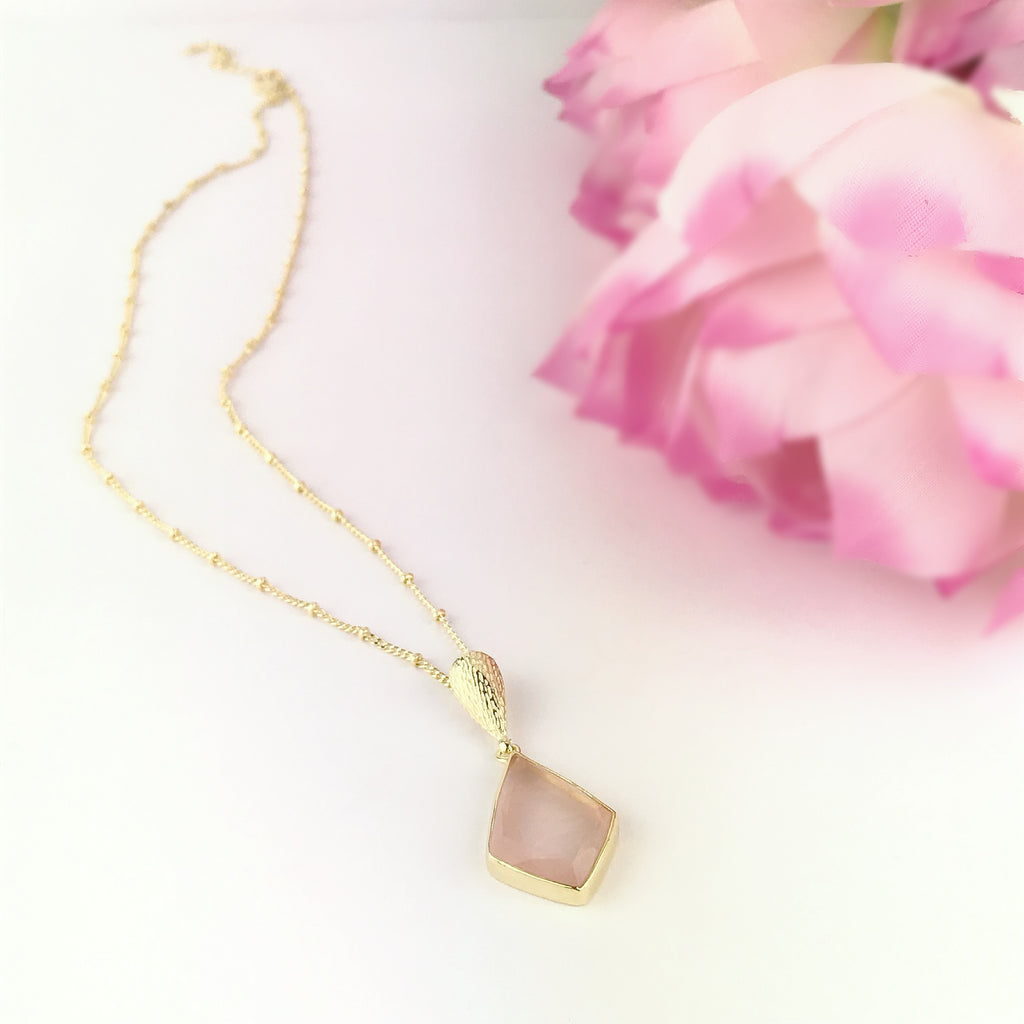 Evening Rose Necklace - VNKL214