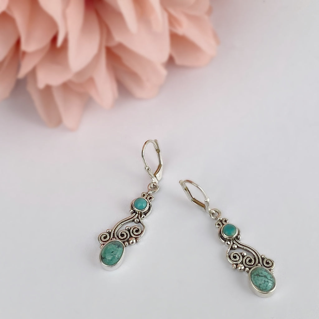 Blue Ocean Earrings - VE611