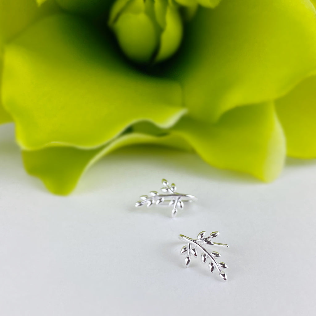 Silver Vine Earrings - VE555