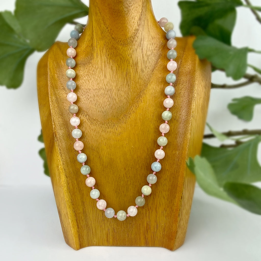 Beryl Bead Necklace - VNKL270