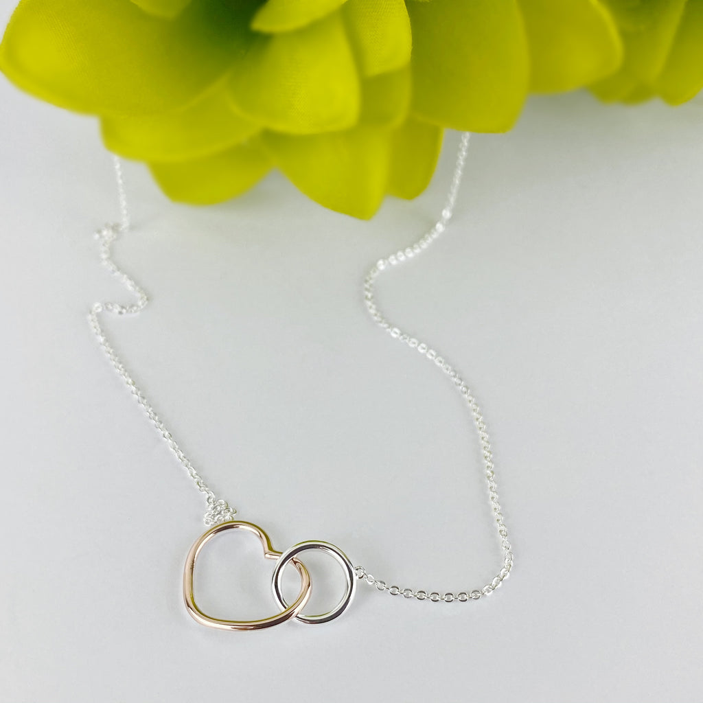 Blush Heart Pendant - SCHN1079
