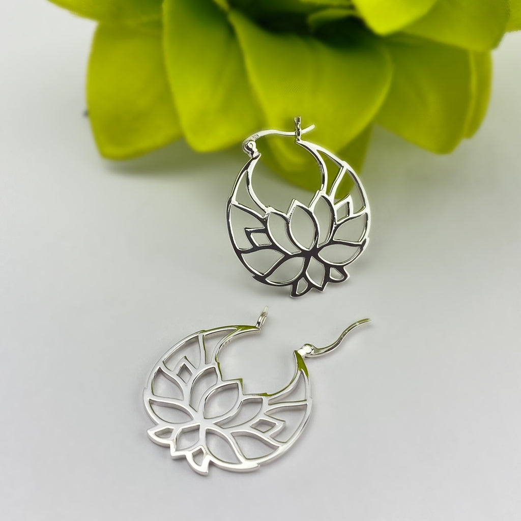Waterlily Earrings - VE480