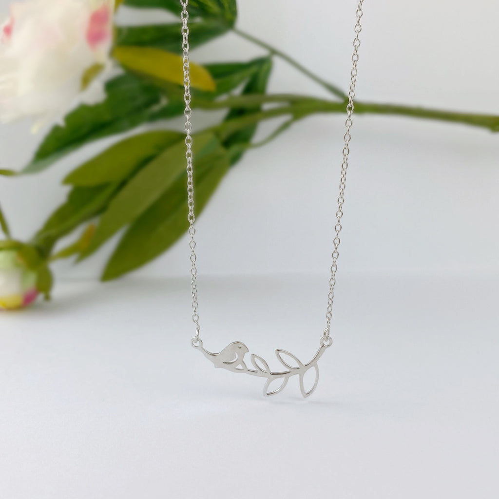 Spring Birdsong Necklace - VNKL242