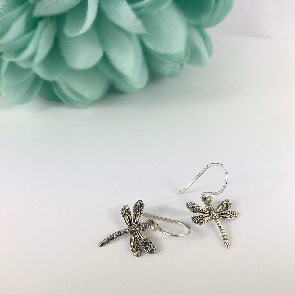 Dancing Dragonfly Earrings - VE531