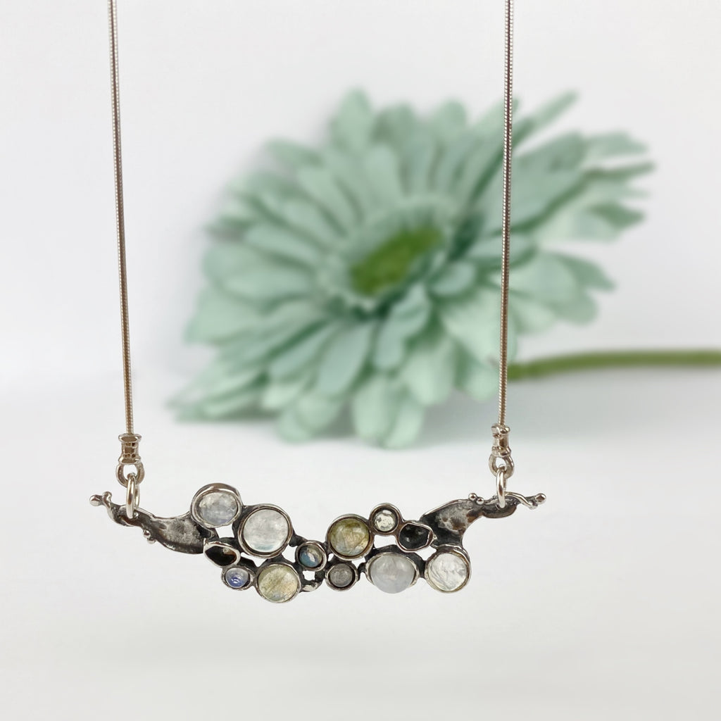 Organic Bubbles Necklace - VNKL254