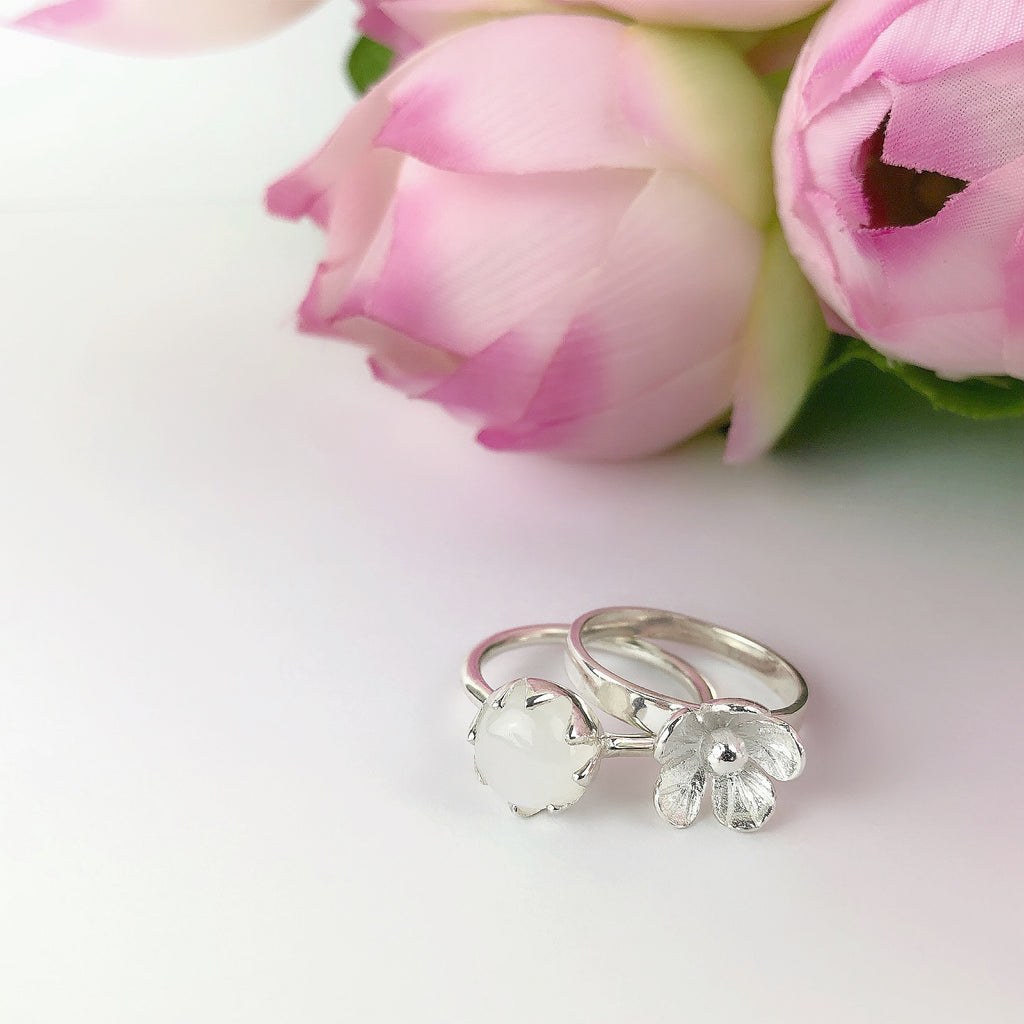 Moon Bloom Ring - SR1859