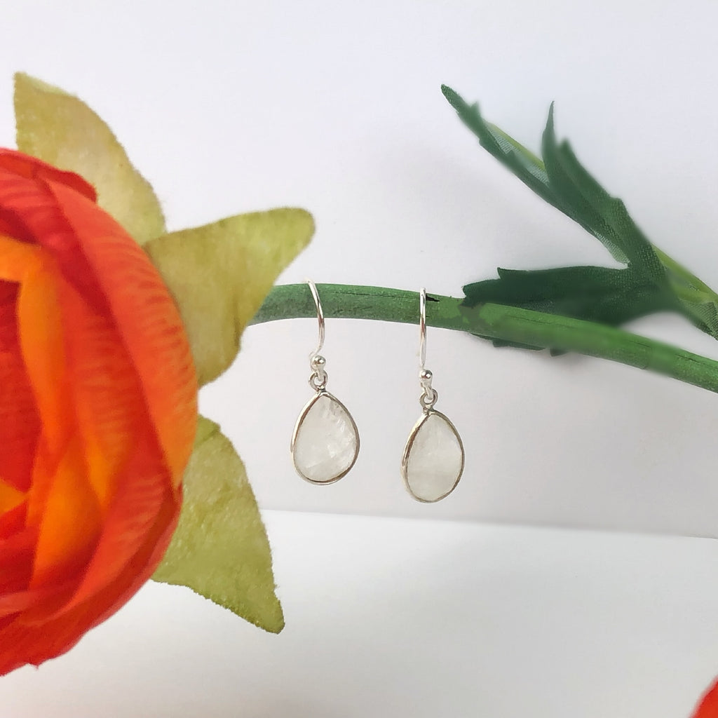 Moon Drop Earrings - VE473