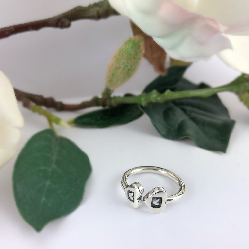 Two Hearts Ring - SR2003
