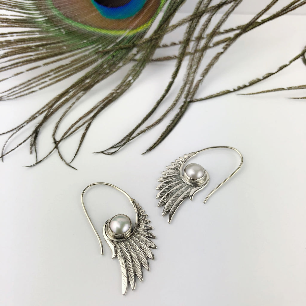 Graceful Wings Earrings - VE485