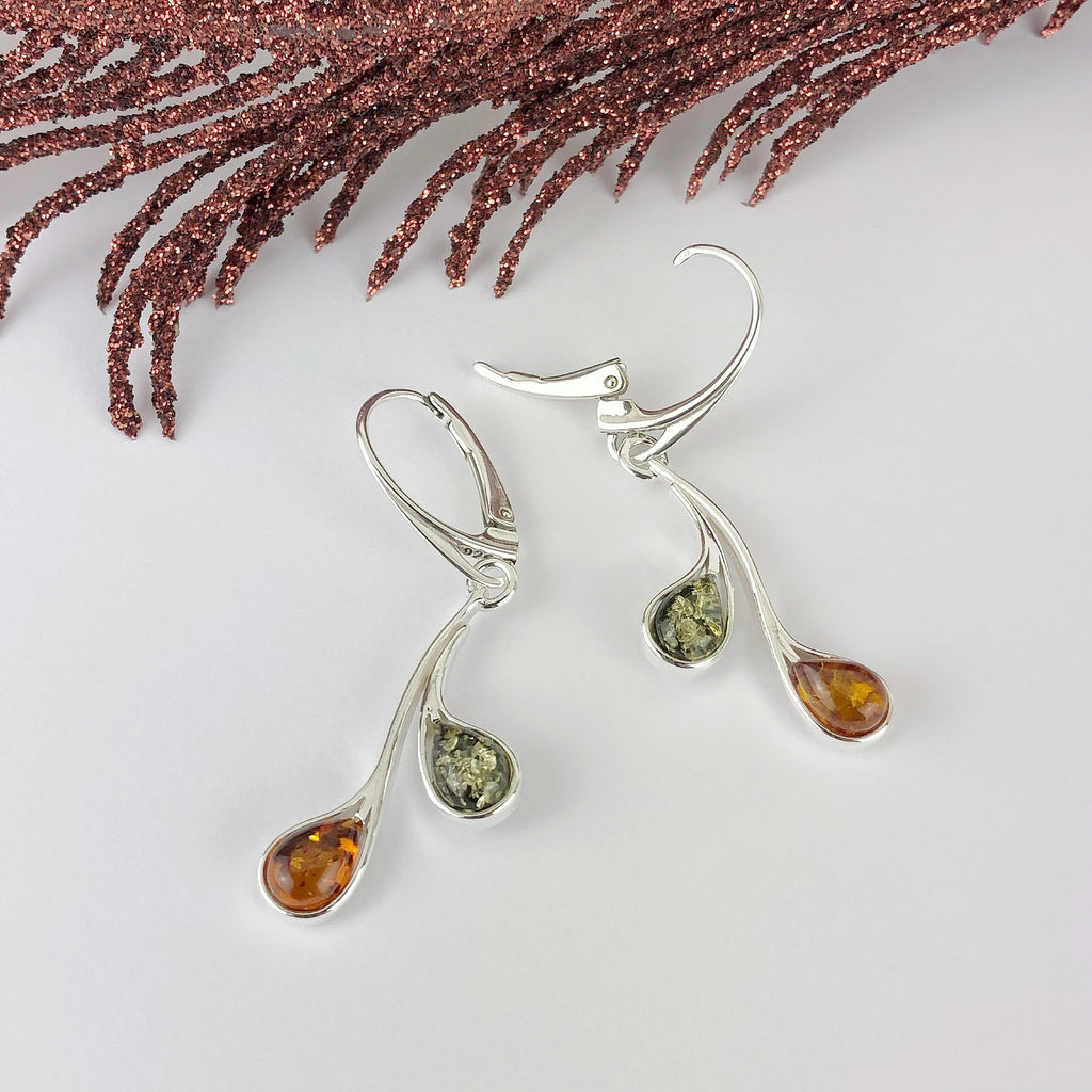 Amber Swing Earrings - VE575