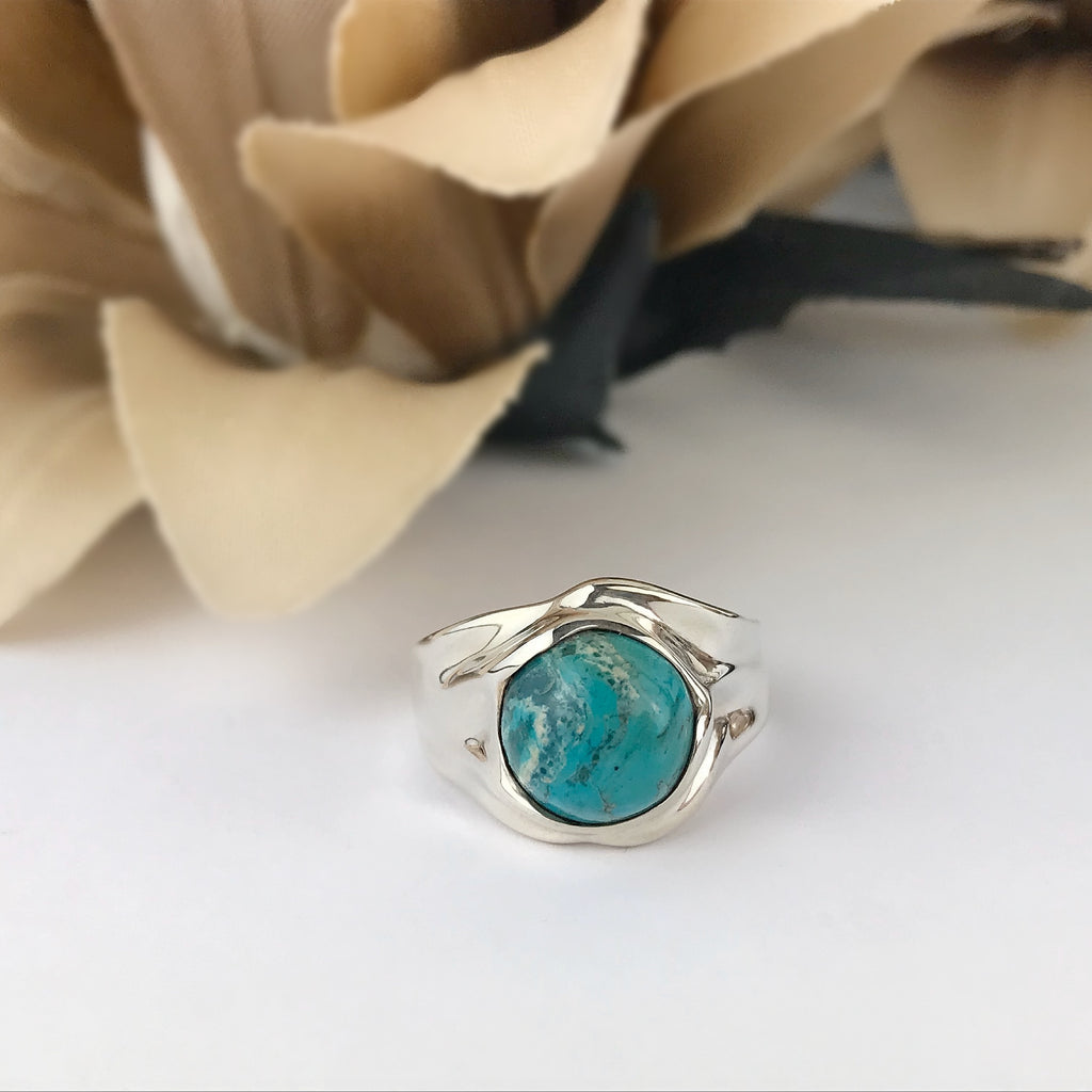 Rustic Blue Ring - SR1469