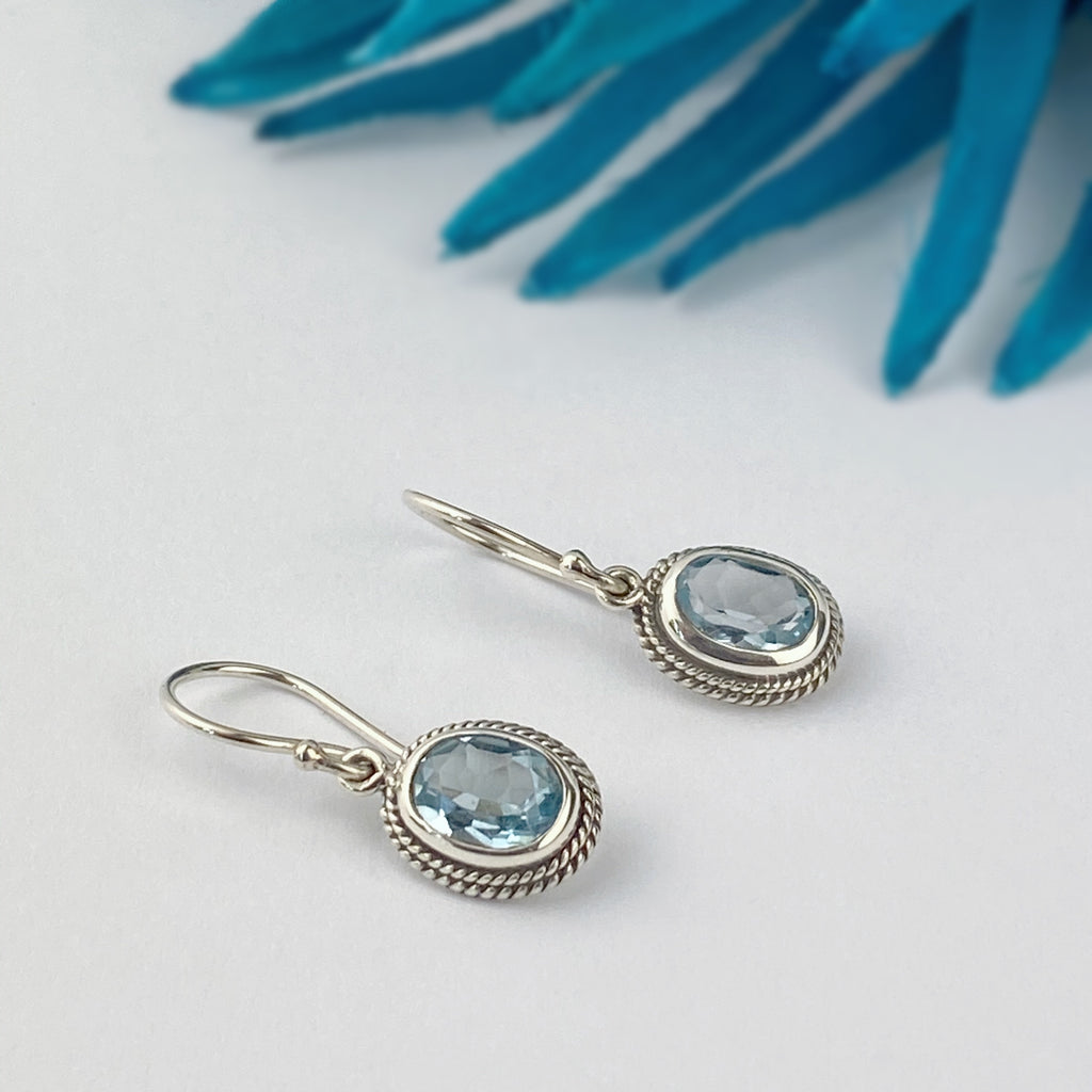 Drop of Blue Earrings - VE423