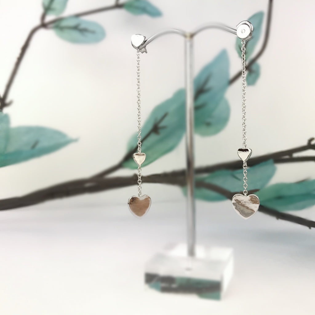Playful Heart Earrings - SE4958