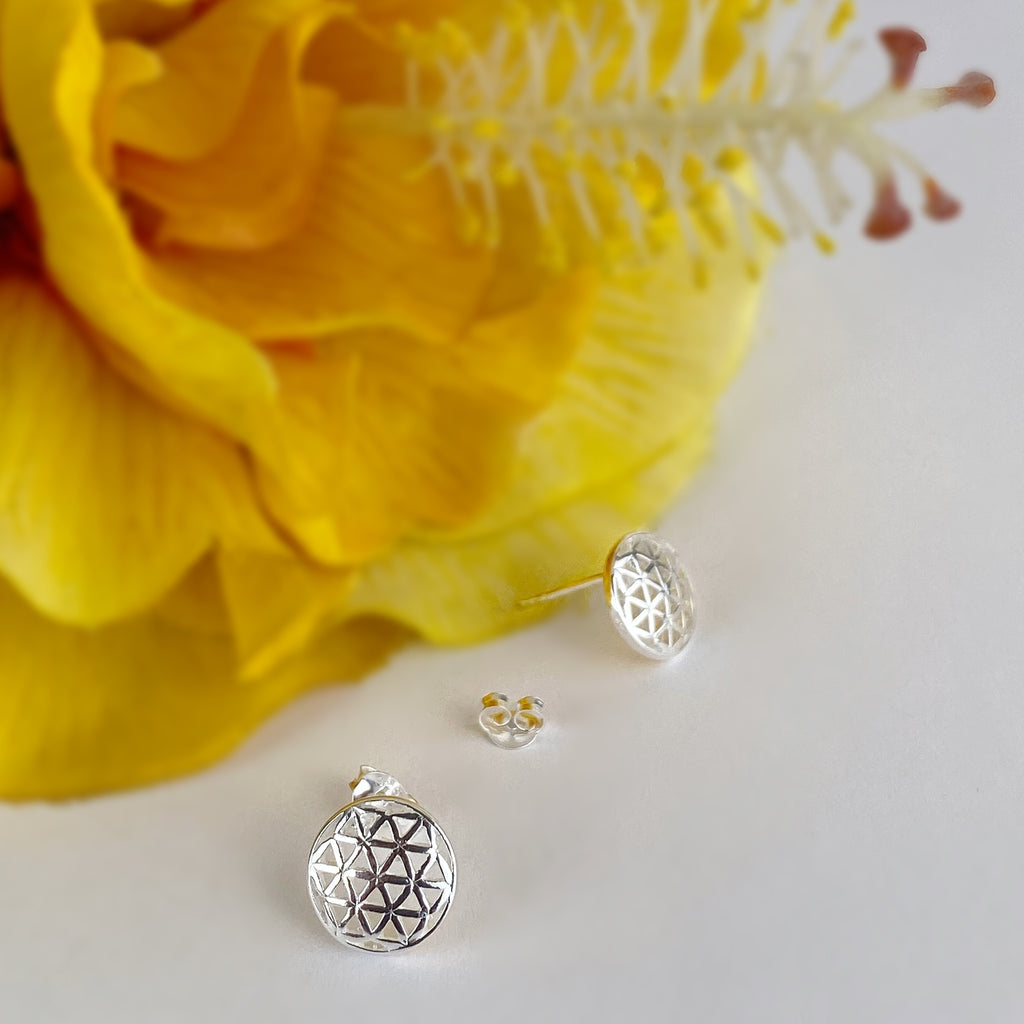 Flower Of Life Earrings - VE567
