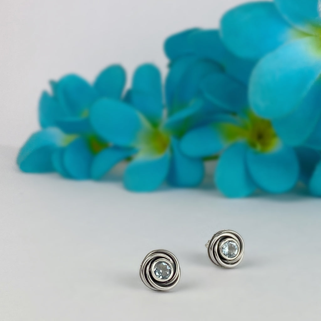 Sky Swirl Earrings - VE631