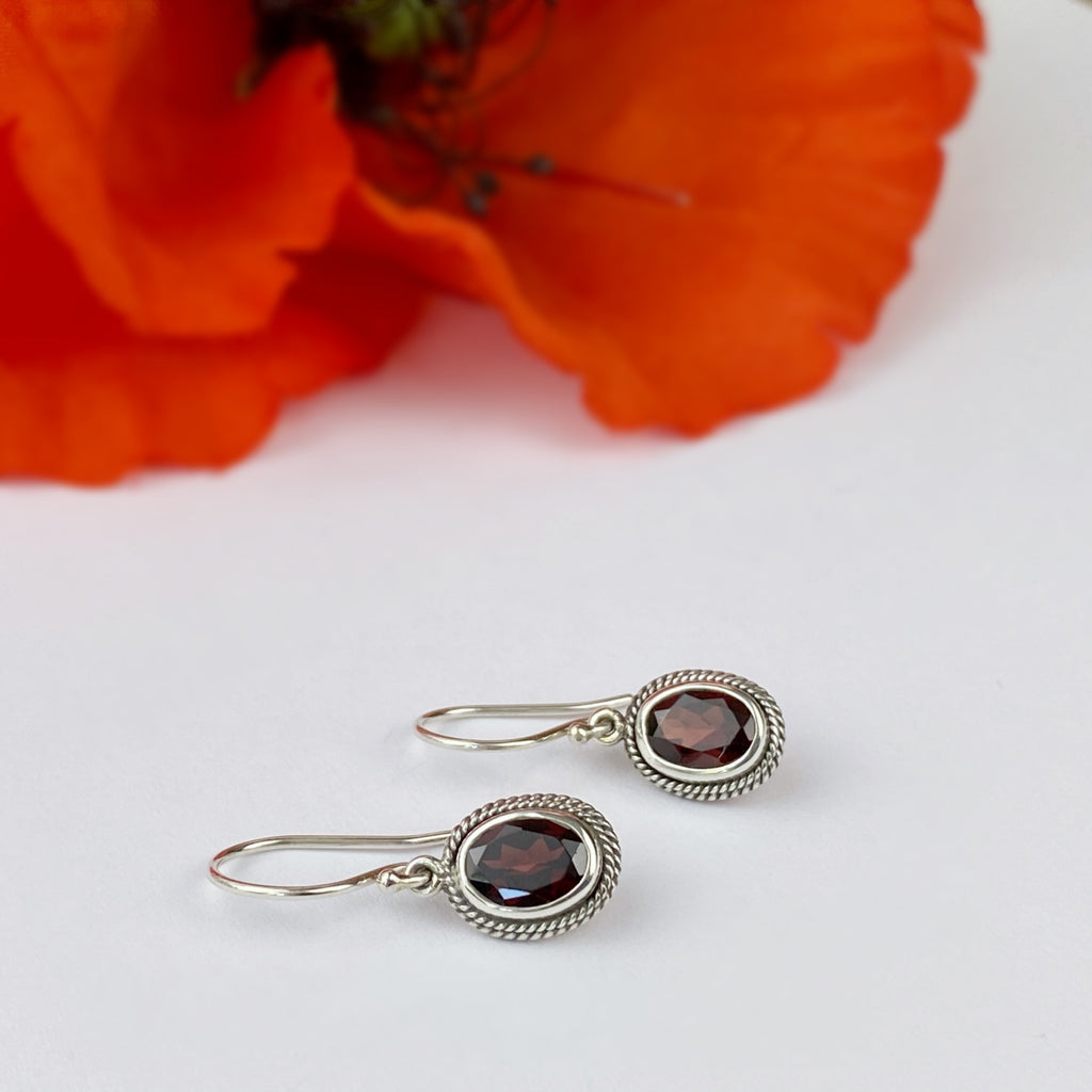 Drop of Wine Earrings - VE246