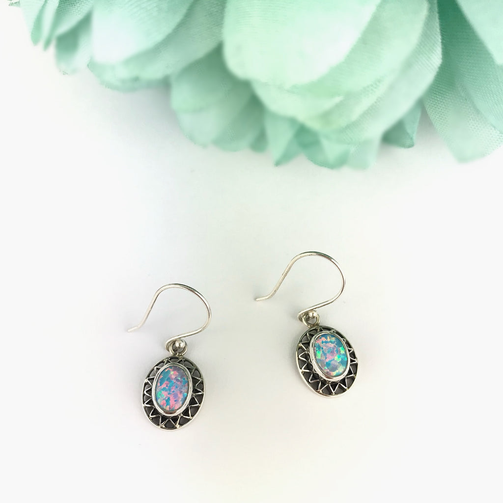 Blue Sun Earrings - VE562